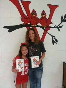 Ciarra and Mrs. Woods